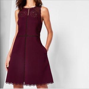 Ted Baker Dresses - Ted Baker Codi Embroidered Scalloped Dress